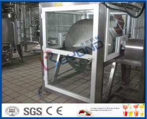 China ISO Electric Butter Maker Butter Making Equipment With Bottle Packing Machine on sale