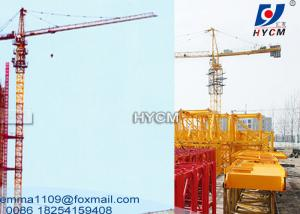 China 50 mts Boom 2.5t End Load Topkit Tower Crane QTZ5025 Model export to Qatar on sale