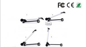 China Portable Carbon Fiber Electric Scooter Foldable 2 Wheel For Kids Teenagers on sale