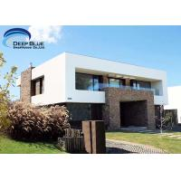 China Luxury Prefab Steel Houses Prefabricated Smart House AS / NZS , CE Standard on sale