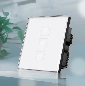 China Home automation switch,Glass panel touch and remote switch on sale