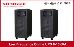 China 50/60HZ Frequency Low Frequency Online UPS Switch For Bank Mini Office System , 6 - 15 KVA supplier