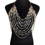 Новое прибытие! Ожерелье жемчуга ювелирных изделий женщин длинное цепное некласе&боды цепное