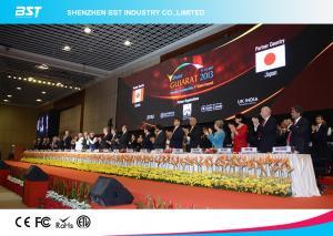 China Slim 64 x 64 Pixels P3mm led video wall panels SMD 2121 black LEDs on sale