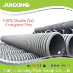 600MM hdpe double wall corrugated drainage pipe with high quality