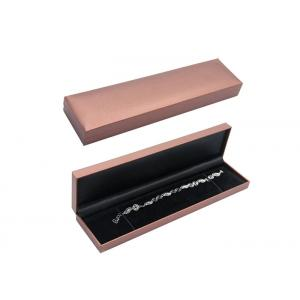 China Handmade Recycled Cardboard Jewelry Boxes Bracelet Packaging Box Simple Design on sale