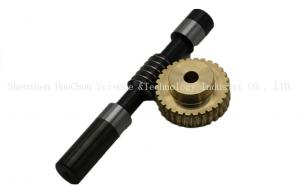 China Worm Gear Shaft Micro Worm Gear Stainless Steel Material CE / ROHS Approved on sale