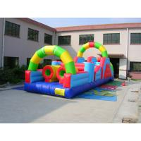 High Quality Inflatable 0.55mm PVC Tarpaulin Bounce House Combo Commercial Grade