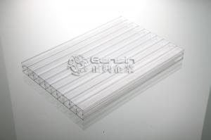 China 10 Years Warranty Lexan/Bayer Polycarbonate Multiwall Hollow Sheet on sale