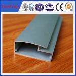 China aluminum profile for kitchen cabinet glass door wholesale