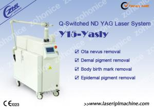 China Q - Switch Nd Yag Laser Tattoo Removal Machine for Pigmentation Removal on sale