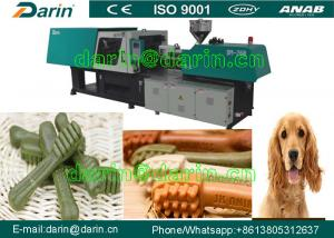 China Automatic Dog Snacks Injection Molding Pet Chews Machine / nutual dog food machinery on sale