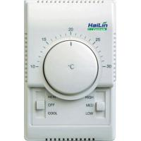 China Industrial Auto Heat Cool Fan Coil Unit Thermostat , 60mm Hole Pitch on sale