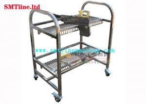 China Hitachi Electric Stainless Steel Feed Cart 4 3 Inch Universal Casters Lightweight on sale