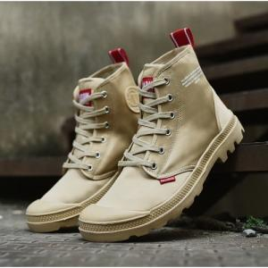 China Palladium Canvas High Sneakers CLR3353 discount brand shoes  casual sneakers www.apollo-mall.com on sale