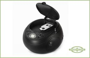 China Ranura incorporada del puerto de USB de la música de la novedad del jugador CD portátil de la radio SD/MMC on sale