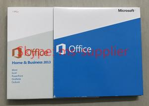 China Online Activation Original Office 2013 Retail Box For 1 Windows PKC Retail CD on sale