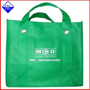 China Fashion Mixed Color Non Woven Fabric Bags , Non Woven Reusable Shopping Bags on sale