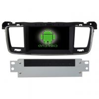 China Peugeot 508 In dash car dvd multimedia Android 4.1 in car dvd cd players OEM manufacturer on sale