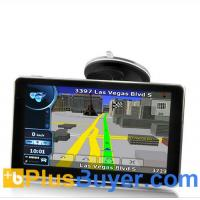 """6"""" Touchscreen TFT GPS Navigator with FM Transmitter and MPEG-4 DVB-T"""