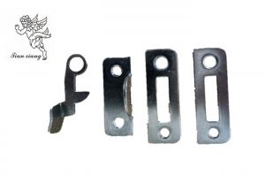 China Black  / Silver Funeral Coffin Latch , Customized Adult Iron Coffin Lock on sale