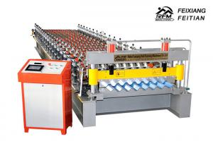 China Industrial Wall Panel Roll Forming Machine , Pillar Design Roof Tile Roll Forming Machine on sale