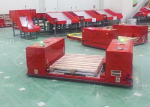 China Fast Speed Non Standard Heavy Duty AGV Automatic Guided Vehicle QR Code Guidance on sale
