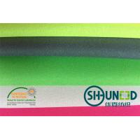 100% Polyester Plain Weave Fusible Woven Interlining For Lady