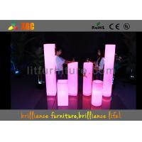 China LED Column & Wedding LED Pillar , Illuminated Pillars For Night Clubs on sale