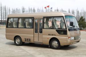 China Toyota style Rosa Tourist Mini Bus Coaster vehicle 6m with Yuchai engine on sale