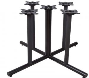 China Cast Iron Restaurant Table Bases Multi Columns Sturdy Cheap Furniture Component on sale