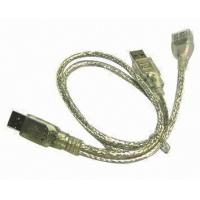 Transparent usb data transfer cable 1.5m length