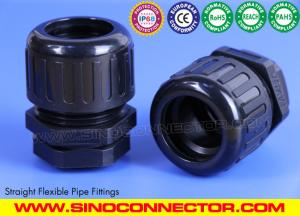 China Polyamide IP68 Waterproof Straight Fittings for Flexible Conduits on sale