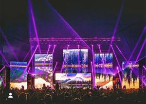 China Outdoor Rental LED Display, RGB Portable High Brightness with Video Processor For Stage on sale
