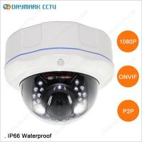 China Weatherproof Full HD 1080p Outdoor Dome Network Camera on sale