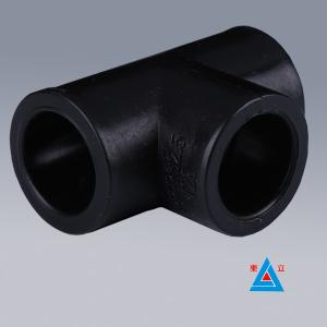 Quality HDPE Socket Fusion Fittings/ PE Water Pipe Equal Tee for sale ... & HDPE Socket Fusion Fittings/ PE Water Pipe Equal Tee for sale ...
