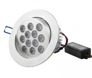 China High Power Commercial Dimmable 9W 810LM Recessed Led Ceiling Light Fixtures on sale