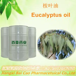 China factory 100% pure Natural eucalyptus tree oil for pharma excipient on sale