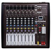 8 channel Professional Audio Mixer  with DSP I08 , Portable Power Mixer