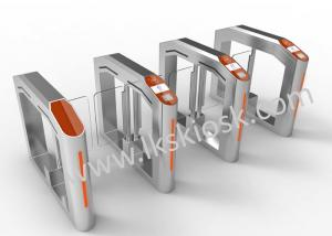 China Ticket Checking Automatic Gate Barrier System , Access Control Barrier In Cinema Entrance on sale