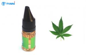 China Food Grade Healthy Electronic Cigarette E Liquid 5ml - 50ml With Cannabis Flavor on sale