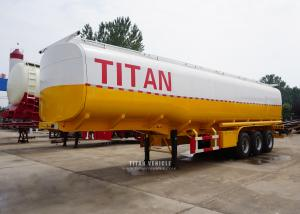 China 3 axle 60 tons stainless steel water tank semi trailer for sale on sale