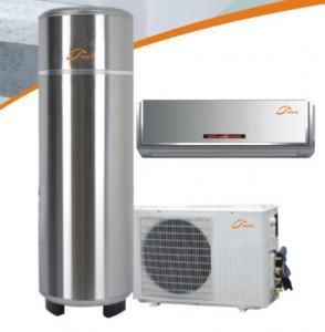 China Cooling&heating&hot water three functions home use air source heat pump  2P Rotary compressor type  home use heat pump on sale