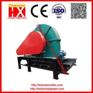 China Disc wood chipper with regular shape output on sale