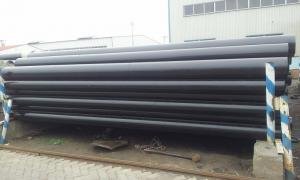 China Cold drawn / hot rolled Carbon Steel Seamless Pipes , STPG370 STS370 JIS DIN on sale
