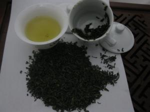 China Professional A / AA Organic Chunmee Green Tea Eyebrow Teas on sale