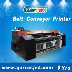 China Digital Textile Belt Printer 100% Cotton Fabric Belt Conveyor Direct Printing Machin on sale