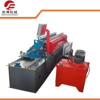 U Purlin Drywall Stud Roll Forming Machine Fully Automatic Control With No Stop Cutting Way