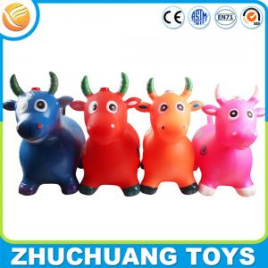 China phthalate free pvc music color painting bull cow riding toys for kids on sale