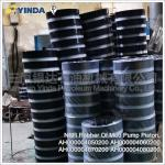 40Cr Mud Pump Parts Piston NBR Rubber AH000004050200 AH000004060200 Forged Steel